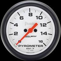 Auto Meter Phantom - EGT/Pyrometer 67mm - FAHRENHEIT (0-1,600)