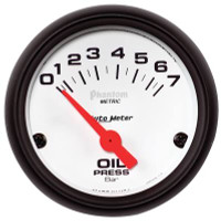 Auto Meter Phantom - Oil Pressure Gauge: 0-7 Bar