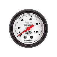Auto Meter Phantom - Fuel Pressure Gauge: 0-1 Bar
