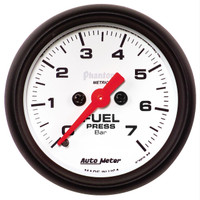 Auto Meter Phantom - Fuel Pressure Gauge: 0-7 Bar