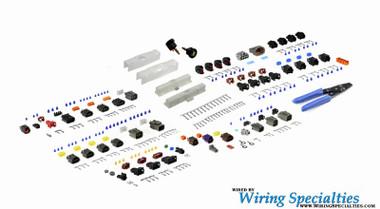 wiring specialties ka24e s13 harness repair rebuild kit rh 240sxmotoring com Trailer Wiring Harness s13 ka24e wiring harness