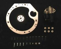 KA24 to VG Transmission adapter - Stand alone