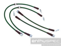 Enthuspec Z32/300zx Front & Rear Brake Line Kit Combo - Nissan 240sx
