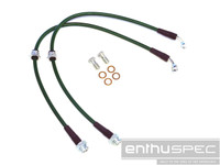 Enthuspec Front Brake Lines for Nissan 240sx 89-98 S13/S14