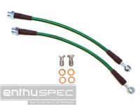 Enthuspec Rear Brake Lines for Nissan 240sx 89-98 S13/S14