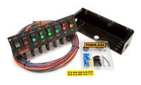 8 Switch Rocker Circuit Breaker Panel