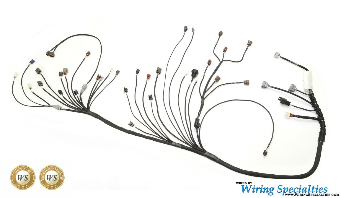 Phenomenal Wiring Specialties Rb25Det Pro Series Wiring Harness For S13 240Sx Wiring Digital Resources Sulfshebarightsorg