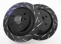 EBC Ultimax USR Slotted Rotors (Rear) - Nissan 240SX Z32 Brakes