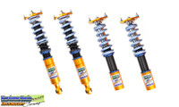 Fortune Auto Dreadnought Series Inverted Competition Coilovers - Nissan 240SX S13 89-94