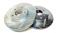 P2M - FRONT Brake Rotors for Nissan 240sx S13/S14 89-98