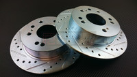 P2M - REAR Brake Rotors for Nissan 240sx S13/S14 89-98