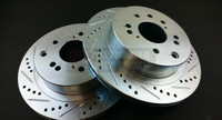 P2M - Nissan Z32 Rear Brake Rotors