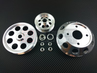 P2M - 3 Piece Pulley Kit for NISSAN 240sx S13 SR20DET