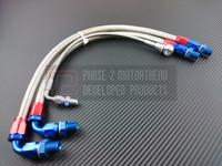 P2M - Steel Braided Turbo Line Kit for NISSAN 240sx S14/15 SR20DET