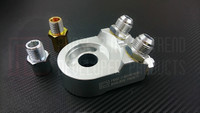 P2M - ANGLED OIL FILTER BLOCK ADAPTER