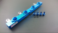 P2M - BILLET ALUMINUM FUEL RAIL KIT for NISSAN 240SX S13 SR20DET - SIDE FEED