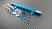 P2M - TOP FEED BILLET ALUMINUM FUEL RAIL KIT for NISSAN 240SX S13 SR20DET