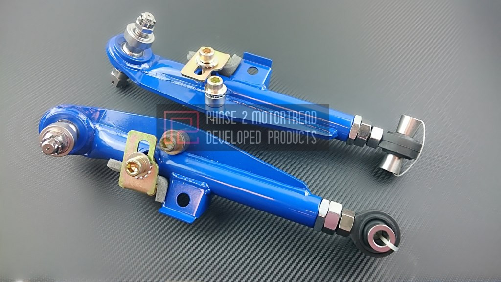 P2M - Adjustable FRONT LOWER Control Arms for Nissan 240sx S13 89-94