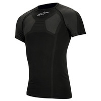 Alpine Stars - Kx Short Sleeve Top, Color Black, Size Xxs/Xs