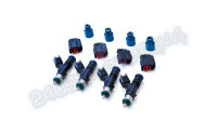 Injector Dynamics 1050cc Injectors Set of 4 with adaptors/clips (SR20DET/KA24DE)