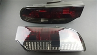 P2M 3 Piece Smoked Rear Tail Light Set - S13 180SX/Hatchback 89-93
