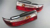 P2M NISSAN S14 1995-96 240SX ZENKI 3PCS CRYSTAL LED REAR TAIL LIGHT KIT