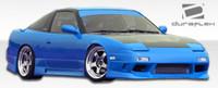 1989-1994 Nissan 240SX Polyurethane GP-1 Front Bumper Cover - 1 Piece