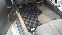 P2M NISSAN S13 1989-94 240SX RACE FLOOR CARPET MATS : DARK GREY