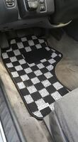 P2M NISSAN S13 1989-94 240SX RACE FLOOR CARPET MATS : LIGHT WHITE