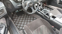P2M NISSAN S14 1995-98 240SX RACE FLOOR CARPET MATS : DARK GREY