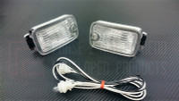 P2M NISSAN 180SX JDM TYPE-X SINGLE POST FRONT POSITION LIGHTS