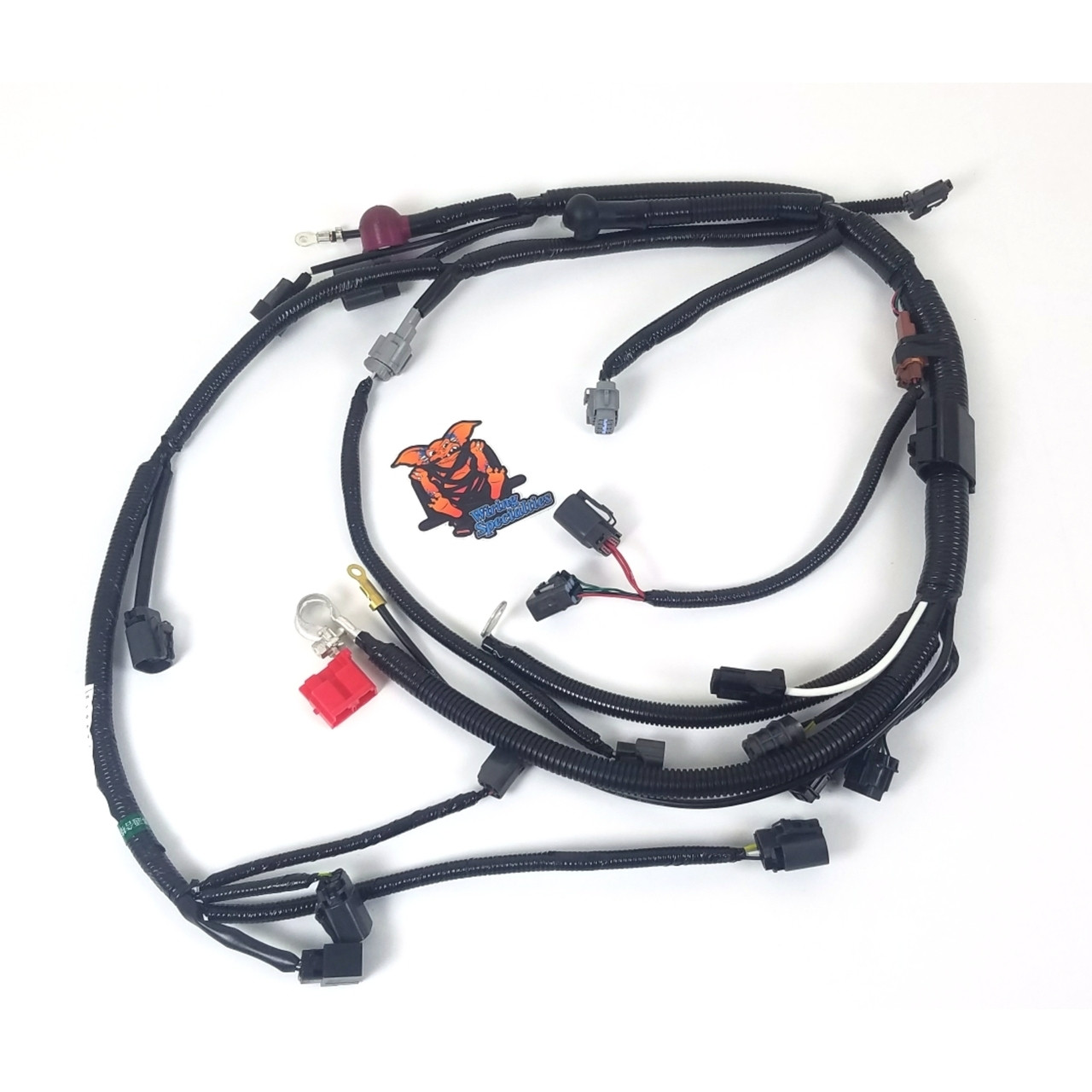 Wiring Specialties S13 Ka24de Wire Center Pulsefrequency Divider 1 Circuit Diagram Tradeoficcom S14 Lower Harness For 240sx Rh 240sxmotoring Com Front Cover Timing Marks