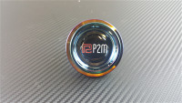 P2M ROUND NEO CHROME OIL CAP