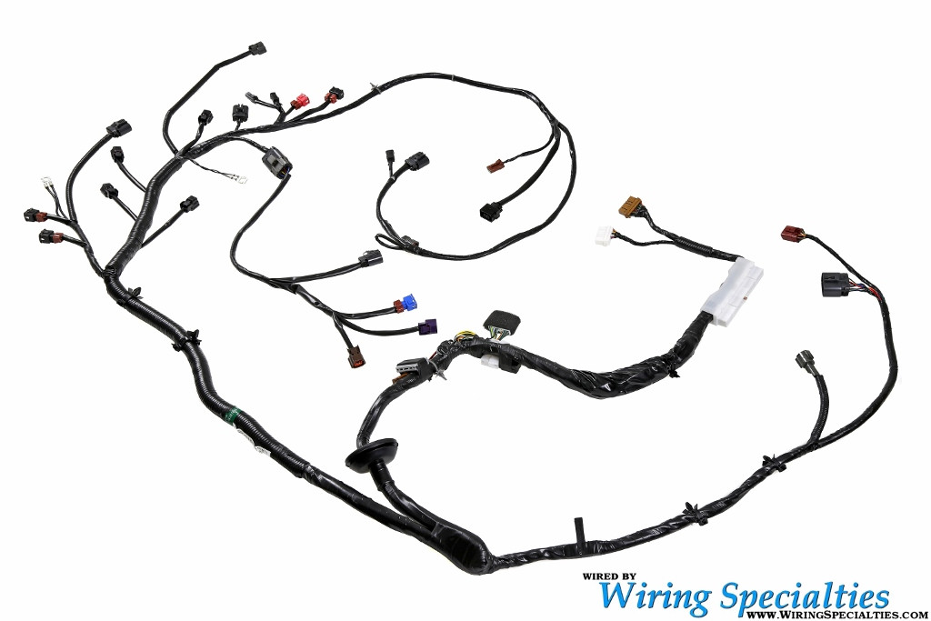Wiring Specialties Pro Series Pre-Made S14 KA24DE Engine into S14  240sxEngine/Trans Wiring Harness