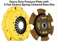 ACT Heavy Duty Clutch w/6puck Sprung for Nissan KA24DE S13/S14