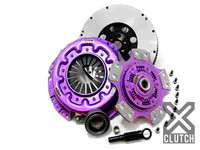 XCLUTCH Clutch Kit Inc Chromoly Flywheel; Stage 2 Ceramic Race Disc- Nissan 240sx KA24DE