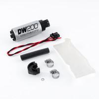 DeatschWerks 94+ Nissan 240sx/Silvia S14/S15 255 LPH DW200 In-Tank Fuel Pump w/ Install Kit