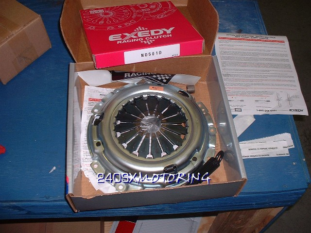 EXEDY - Stage 1 Clutch Kit for Nissan 240sx S13/S14 SR20DET 06803B