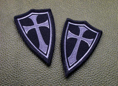 Crusader Cross Patch