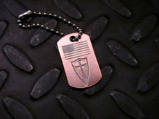 Crusader Flag Tag