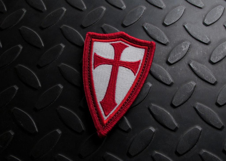 Steel Flame Crusader Patch