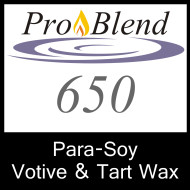 ProBlend 650 Para-Soy Votive and Tart Wax