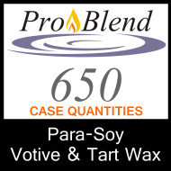 ProBlend 650 Para-Soy Votive and Tart Wax - CASE