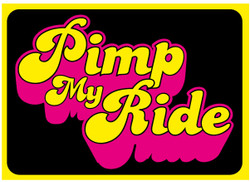 pimp my ride Funny novelty bumper sticker car stickers