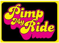 pimp my ride Funny novelty bumper sticker car stickers