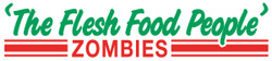 Zombies the Flesh Food People Funny Zombie Bumper Stickers - BUY NOW!