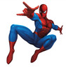 Personalised Spiderman Birthday Party Giveaway Stickers