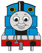 Personalised Thomas the Tank Engine Birthday Party giveaway stickers