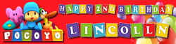 Personalised Pocoyo Birthday Banner - Perfect Party Idea