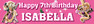 Personalised Tangled Birthday Party Banner Decoration